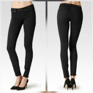 PAIGE Verdugo Ultra Skinny Black Jeans Size 31